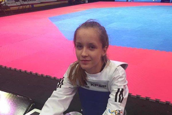 Medzi ocenenými aj taekwondistka. Gabriela Briškárová je medailistka zjuniorských MS.