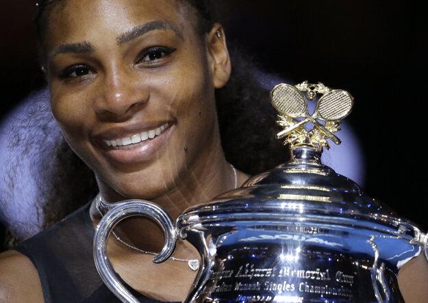 Serena Williamsová je najlepšie zarábajúcou športovkyňou sveta.