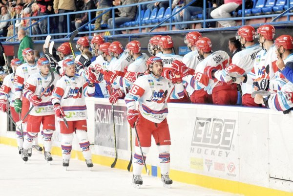 Mikulášski hokejisti.