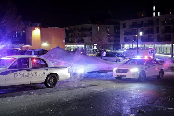 Mešitu a jej okolie polícia uzavrela.