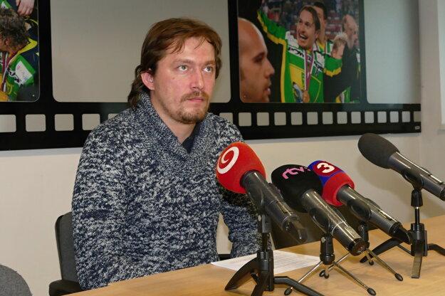 športový a bezpečnostný manažér MsHK Žilina Imre Valášek.