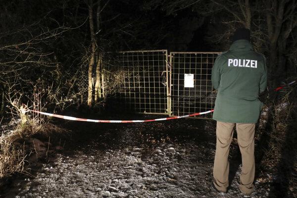 Miesto, kde našli telá šiestich nemeckých tínedžerov.
