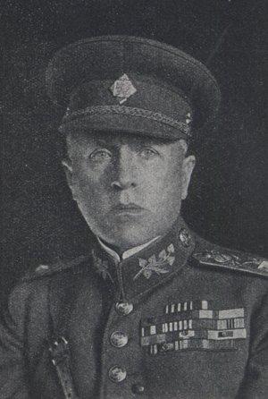 Krajinský generál Jozef Šnejdárek.