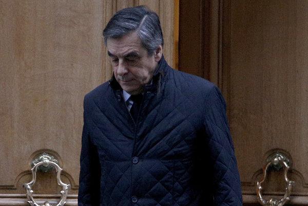 Prezidentský kandidát Francois Fillon.