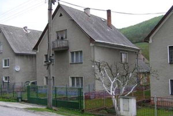 Tento dom si Boháček prenajal, býval v ňom štyri roky.