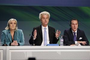 Euroskeptici sa vo voľbách môžu spoliehať na pomoc z Ruska.