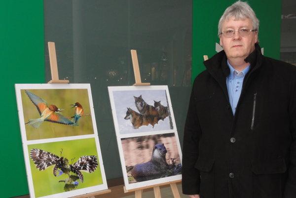 Radimír Siklienka má výstavu v OC Centro, potrvá do konca februára.