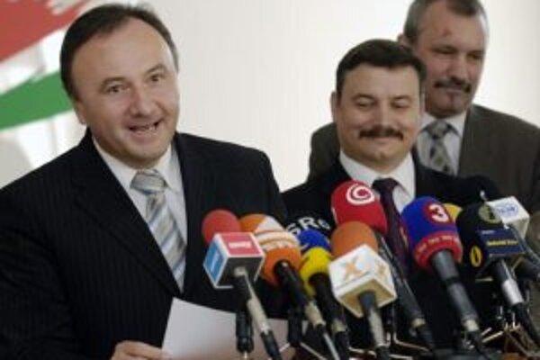 Predseda SMK Pál Csáky a podpredseda József Berényi.