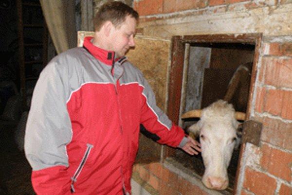 Roman Haviar sa spolu s manželkou Martinou venuje farmárčeniu už šesť rokov.