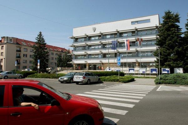 Mestský úrad vo Zvolene.