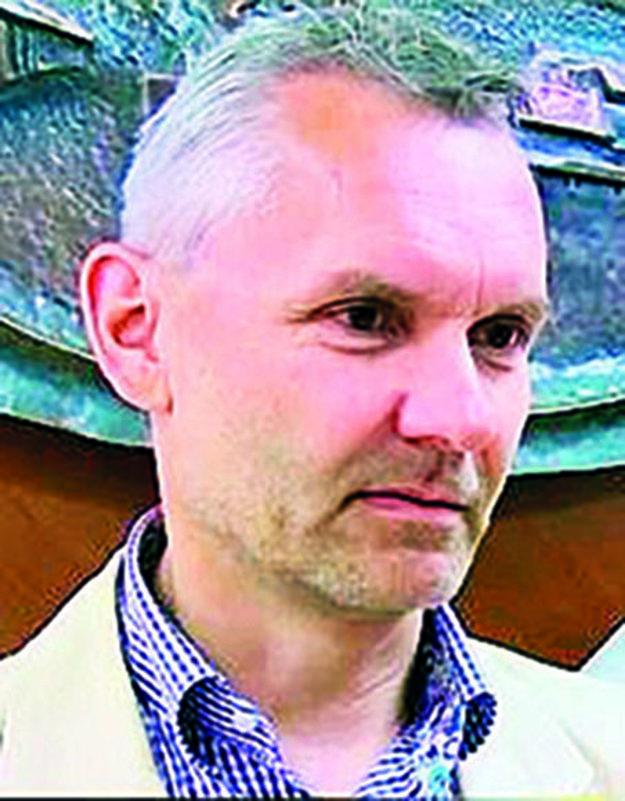 Riaditeľ školy Roman Michalička.
