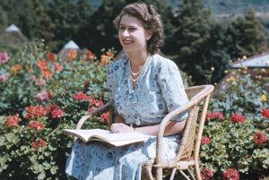 Princezná Alžbeta 21. apríla 1947.