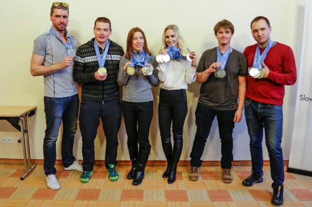 Slovenskí zjazdári.
