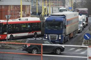 Dopravná situácia v Prešove