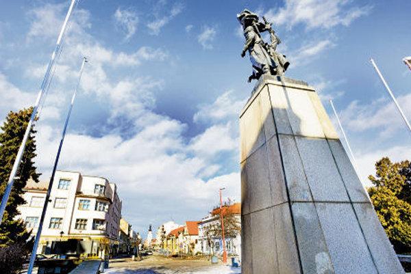 Pamätník v Trnave.