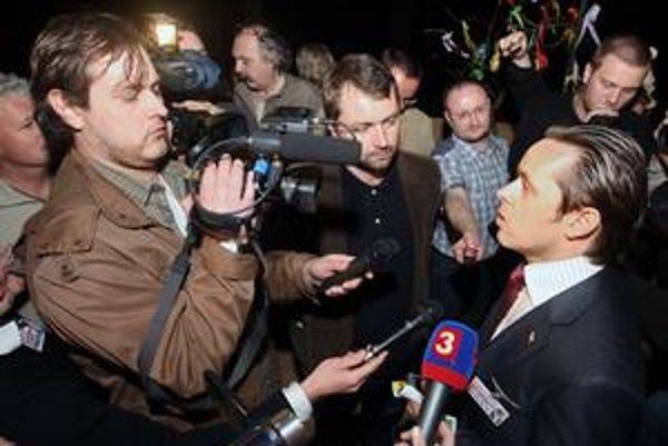 Hovorca prezidenta nepustil novinárov .týždňa do hotela Limbach, kde Gašparovič oslavoval výhru.
