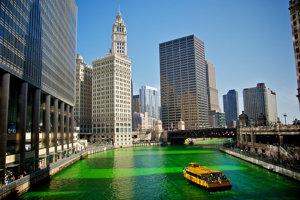 Deň svätého Patrika mení svet na zeleno