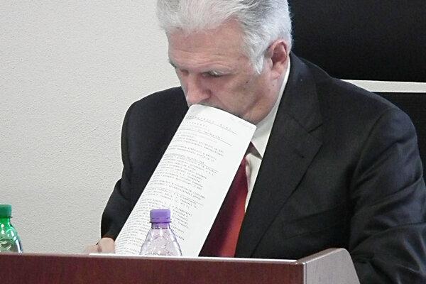 Hlavný kontrolór TSK Richard Horváth.