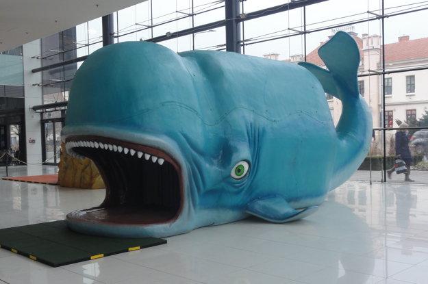 Veľryba z rozprávky Pinocchio.