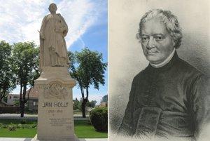 Pomník Jána Hollého v Maduniciach bol slávnostne odkrytý v roku 1923.
