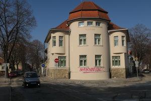 Vila Dr. Lisku v Piešťanoch.