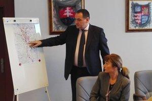 Župan a primátorka spoločne podporujú výstavbu obchvatu Prešova.
