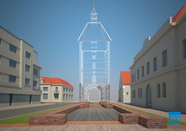 Mesto má pripravenú prezentáciu zo skla, ktorú si objednalo u Ateliéru DV. Finálnou však zdá sa nebude
