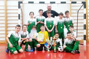 Turnaj vyhrali chlapci z Novote.