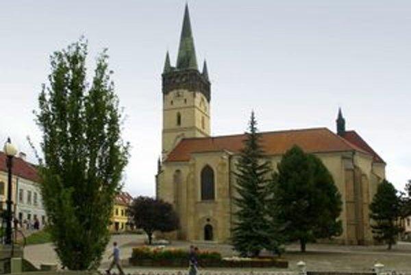 Konkatedrála svätého Mikuláša v Prešove.