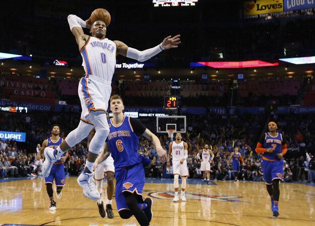 Westbrook a jeho ďalší veľkolepý výkon.