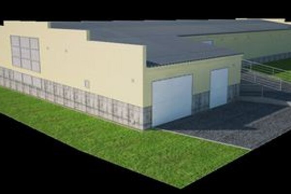 Takto bude vyzerať po dokončení garážový dom v Prievidzi.