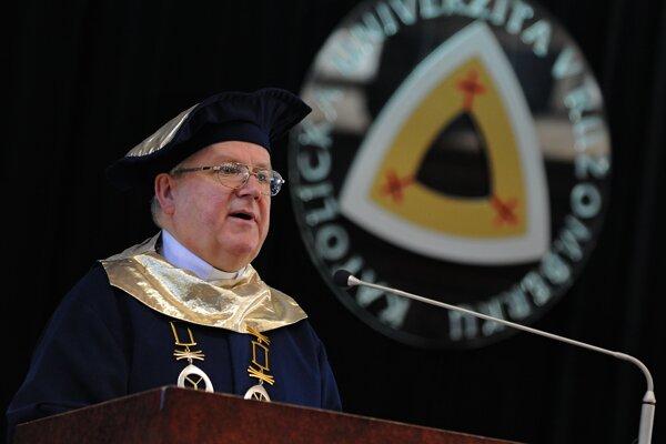 Rektor Katolíckej univerzity v Ružomberku Jozef Jarab.