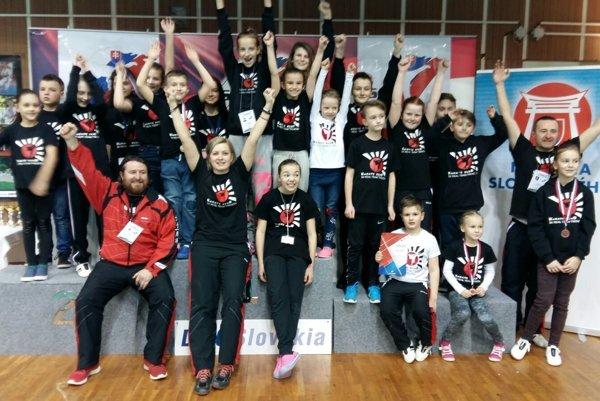 Pretekári z Real teamu Trenčín