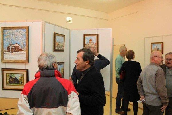 Z otvorenia výstavy.