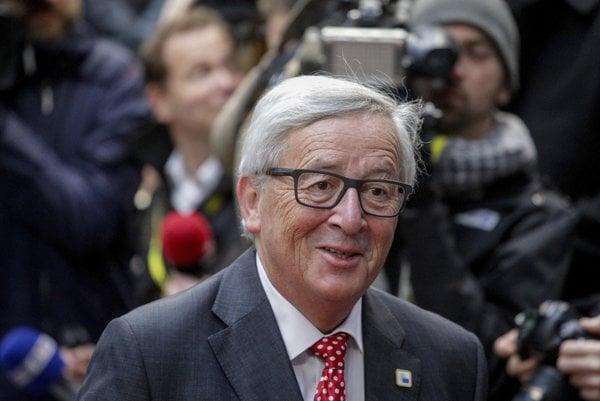 Predseda Európskej komisie Jean-Claude Juncker.