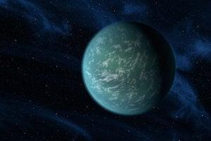 Vodný svet exoplanéty Kepler-22b sa nachádza v obývateľnej zóne svojej hviezdy.