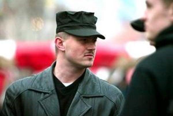 Bývalý šéf Slovenskej pospolitosti Marián Kotleba.