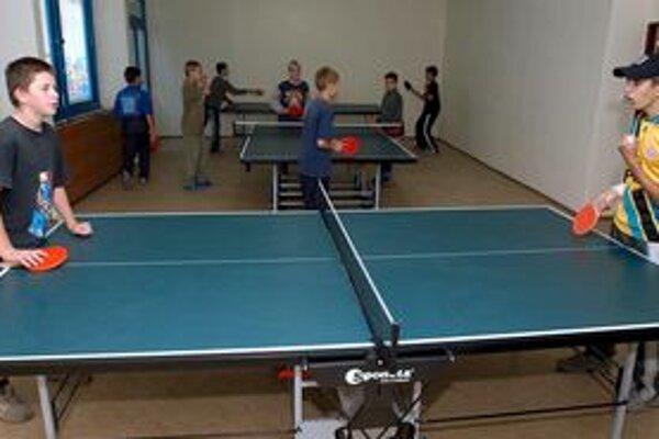 V centrách voľného času sa deti môžu venovať aj športovým aktivitám.