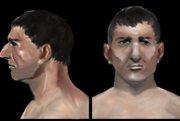 Rekonštrukcia vzhľadu mužov jamovej kultúry.