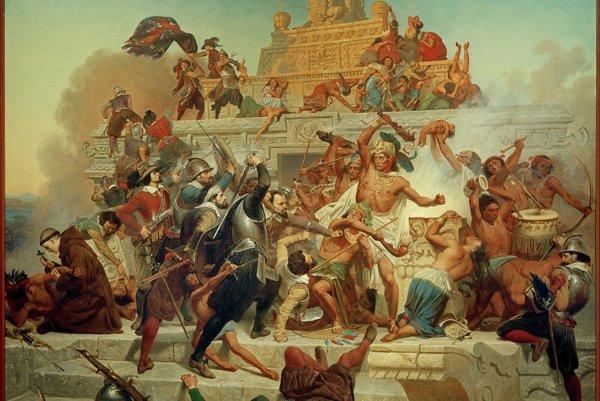 Aztékovia vedeli bojovať s Cortézovými vojakmi, ale proti európskym chorobám boli bezmocní.