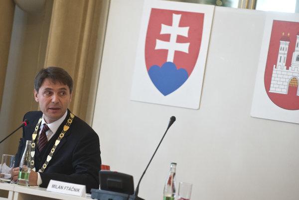 Bratislavský primátor Ivo Nesrovnal.