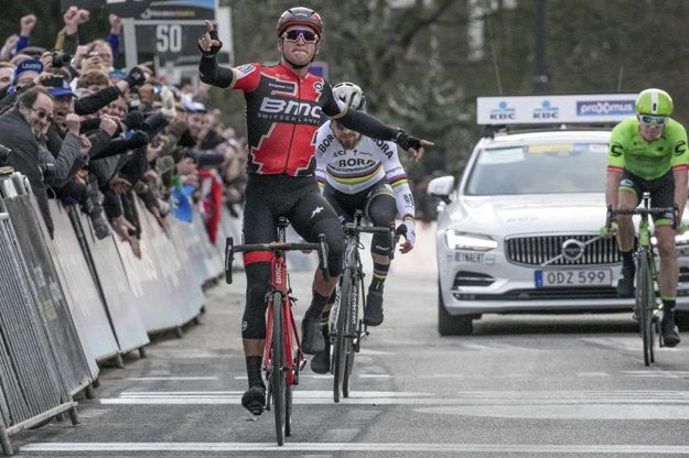 Peter Sagan dosiahol výborný výsledok už v sobotu, keď ho na klasike Omloop Het Nieuwsblad zdolal iba Greg van Avermaet.