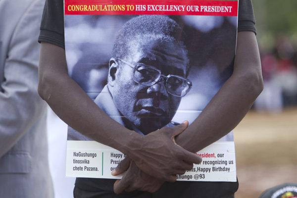 Zimbabwe oslavovalo svojho prezidenta.
