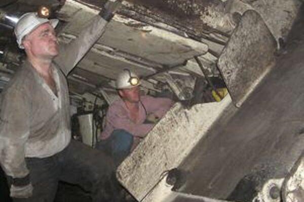 Hornonitrianski baníci majú v tomto roku vyťažiť viac ako dva milióny ton uhlia.