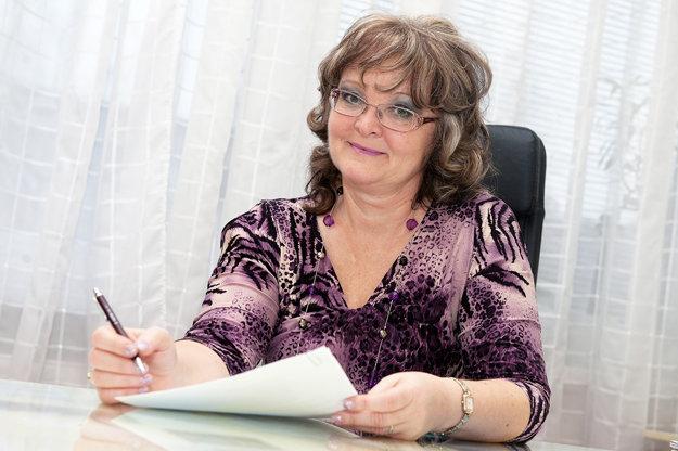 Riaditeľka gymnázia Mária Vydrová.