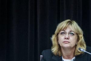 Expredsedníčka súdnej rady Jana Bajánková.