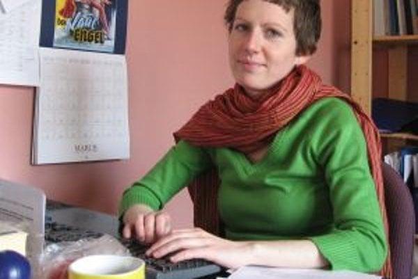 Ľudsko-právna aktivististka Ivana Kullová, ktorú režim vyhostil z Kuby.