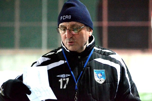 Jozef Šino, tréner Martina