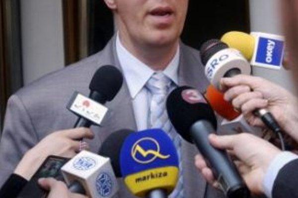 Líder Strany maďarskej koalície (SMK) Béla Bugár.