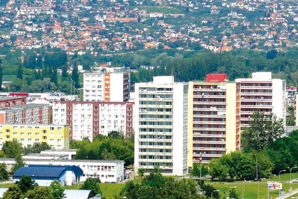 Na sídlisku Klokočina žije viac ako 19-tisíc ľudí.
